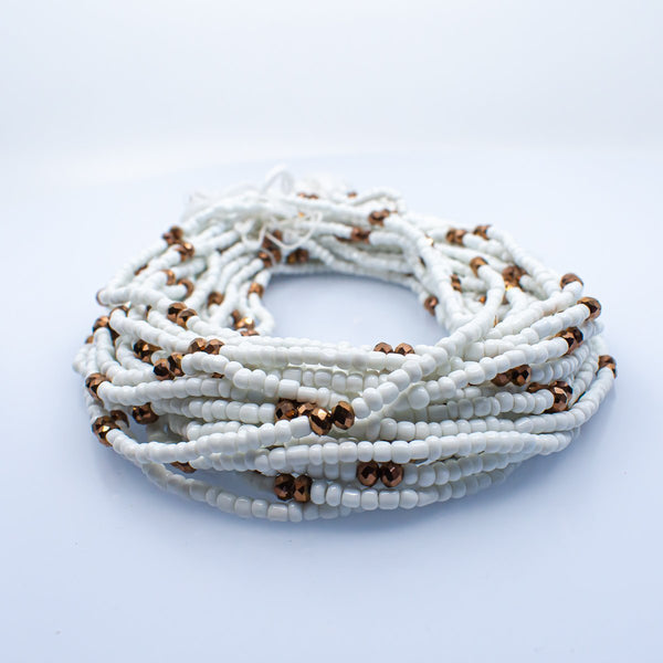 White African Waist Beads - AFRIKAN ATTIRE - african_clothing - - african_attireAFRIKAN ATTIRE - african_fashion