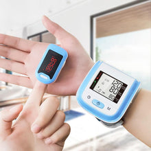 Load image into Gallery viewer, Oximeter & Wrist Blood Pressure Monitor