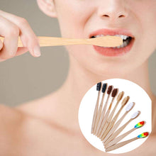 Load image into Gallery viewer, Soft Bristle Bamboo Toothbrush