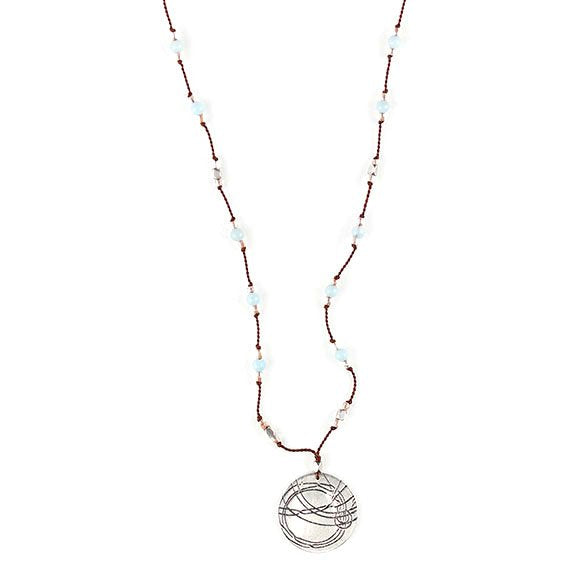 Amazonite Startrail Necklace