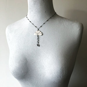 Grey Cloud Elemental Necklace