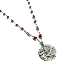 Tomato Startrail Necklace