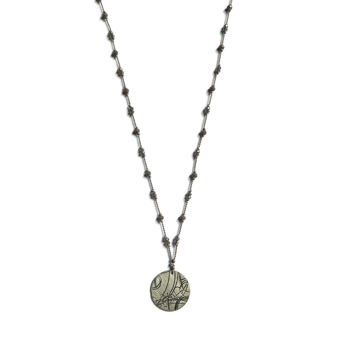 Cloudy Day Startrail Necklace