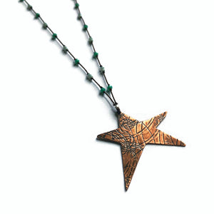 Copper Star Elemental Necklace