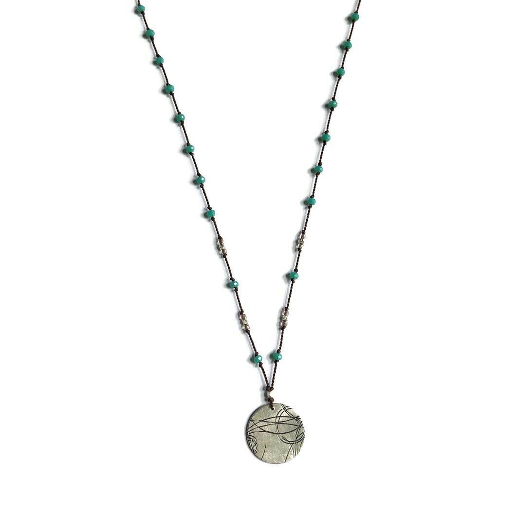 Aqua Startrail Necklace