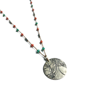 Summer Bright Startrail Necklace