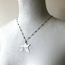 Load image into Gallery viewer, Hematite Star Elemental Necklace
