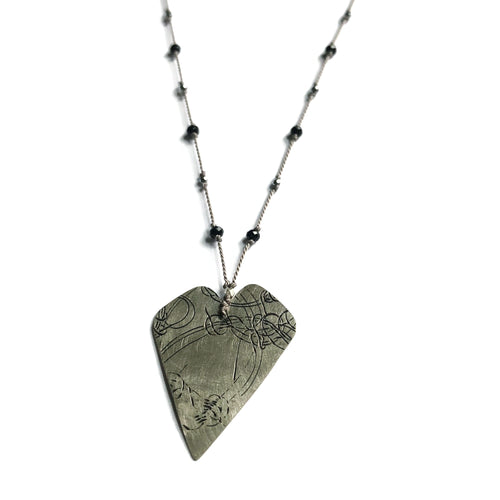 Dark Heart Elemental Necklace