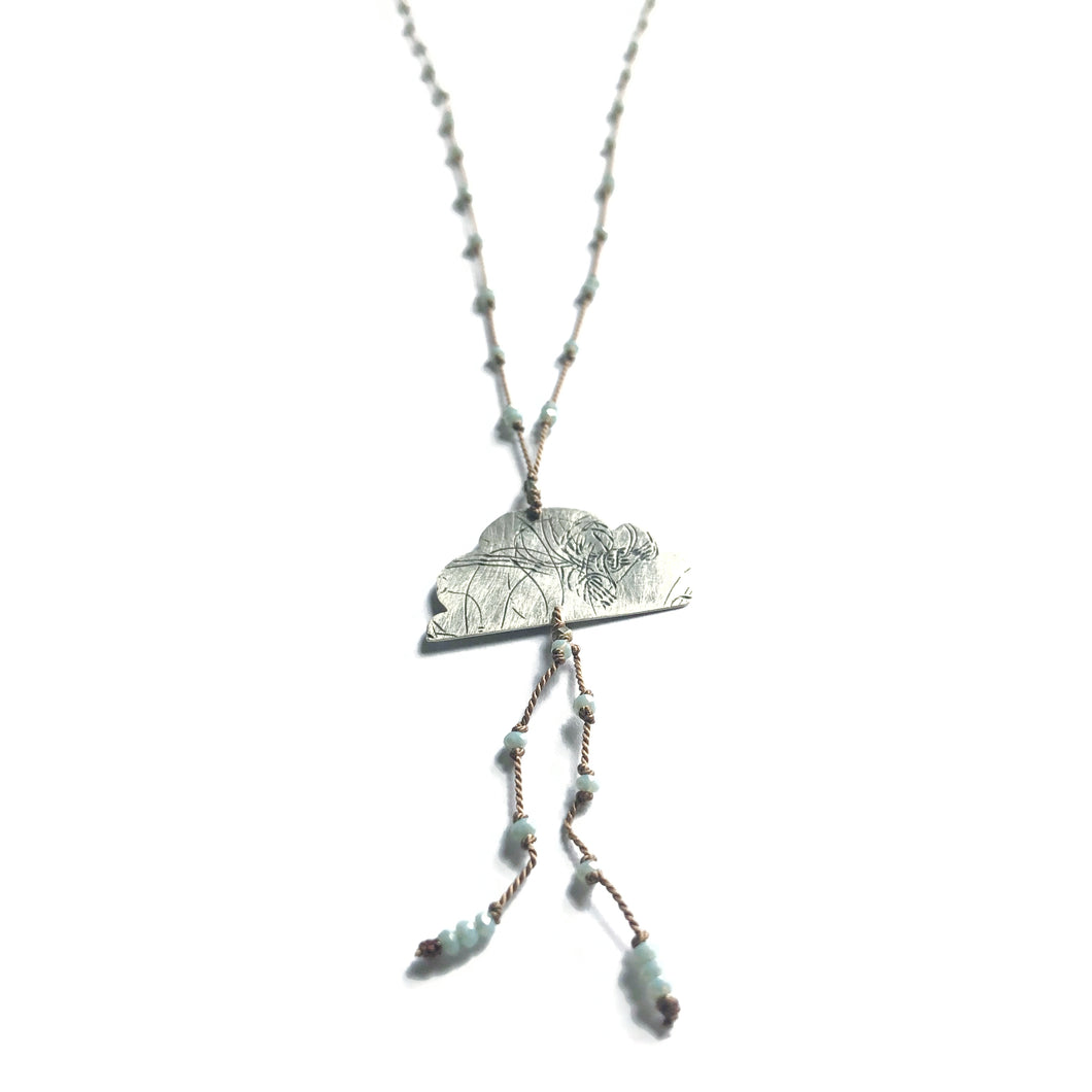 Rain Cloud Elemental Necklace