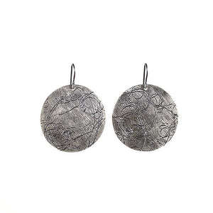 Silver Moon Startrail Earrings