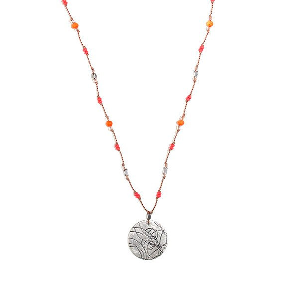 Tangerine Startrail Necklace