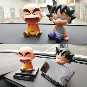 Goku/Krillin Phone Bracket Figure