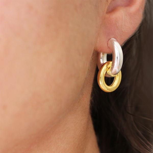 Diana Silver hoops
