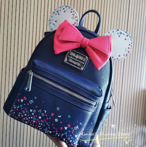 Hong Kong Disneyland - Loungefly x HK Disneyland Exclusive 15th Anniversary Backpack - Ready Stock