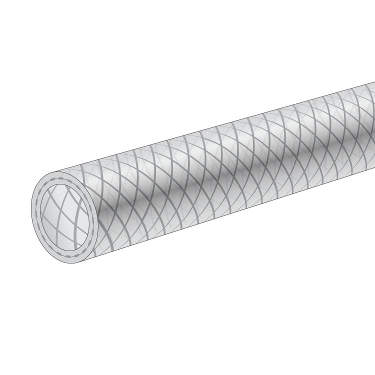 High Pressure Braided Tubing