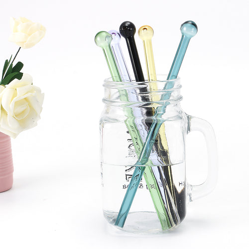 Long Stem Unique Colored Glass Pipes - shop.SWIRLonTHRU.com by GaySocialites