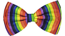 Load image into Gallery viewer, Rainbow Bow Tie with Strap – 1 pc