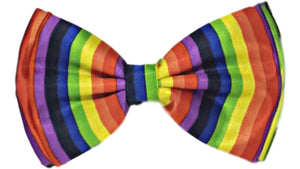 Rainbow Bow Tie with Strap – 1 pc