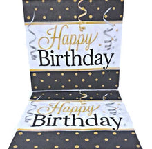 Load image into Gallery viewer, Elegant Happy Birthday Luncheon Napkins – 16 PC