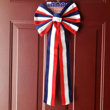 Load image into Gallery viewer, Patriotic 26-inch Velvet Bow 4 Assorted Styles