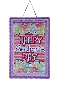 """Happy Mother's Day"" Plaque Hanging Decoration"