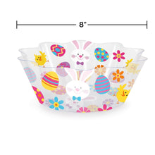 "Load image into Gallery viewer, Easter Fluted Serving Bowl 8"" – 1 Piece"