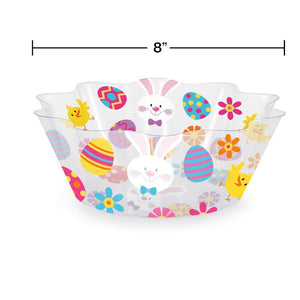 "Easter Fluted Serving Bowl 8"" – 1 Piece"