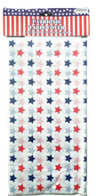 Load image into Gallery viewer, Patriotic Red, White and Blue Stars Plastic Table Cover – 2 Pieces