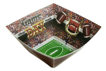 Load image into Gallery viewer, Football Paper Snack Serving Bowl – 2 Count