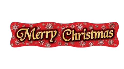 "Christmas Banner 48 X 12"" – 1 Piece"