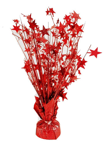 Red Star 15-inch Balloon Weight Centerpiece