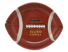 Load image into Gallery viewer, Football Small Serving Tray – 3 Count
