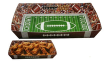 Load image into Gallery viewer, Football Paper Snack Serving Tray – 2 Count