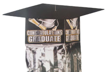 "Load image into Gallery viewer, Graduation Hanging Decoration with ""Congratulations Graduate"" headline"