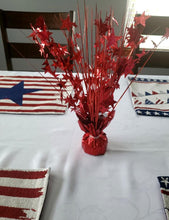 Load image into Gallery viewer, Red Star 15-inch Balloon Weight Centerpiece