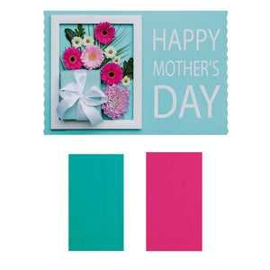 """Happy Mother's Day"" Paper Placemats and Napkins Combo Pack - Set of 8"