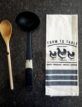 Load image into Gallery viewer, Farmers Table Printed Kitchen Towels – Set of 5