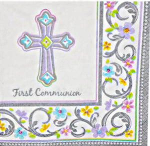 Blessed Day Communion Beverage Cocktail Napkins – 36 CT