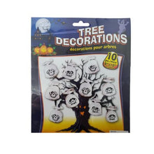 Load image into Gallery viewer, Halloween Ghost Tree Decorations Plastic Bags – 10 Pack