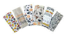 Load image into Gallery viewer, Halloween Printed Kitchen Towels – Set of 6