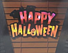 Load image into Gallery viewer, Lighted Happy Halloween Instant Décor Window Decoration