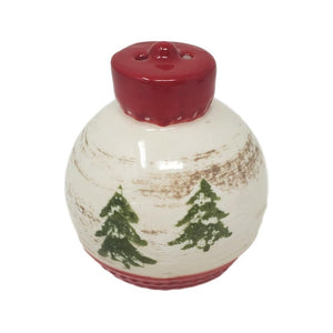 Christmas Ornaments Ceramic Salt and Pepper Shaker Set