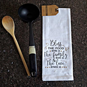Inspire Saying Kitchen/Hand Towels – Set of 5