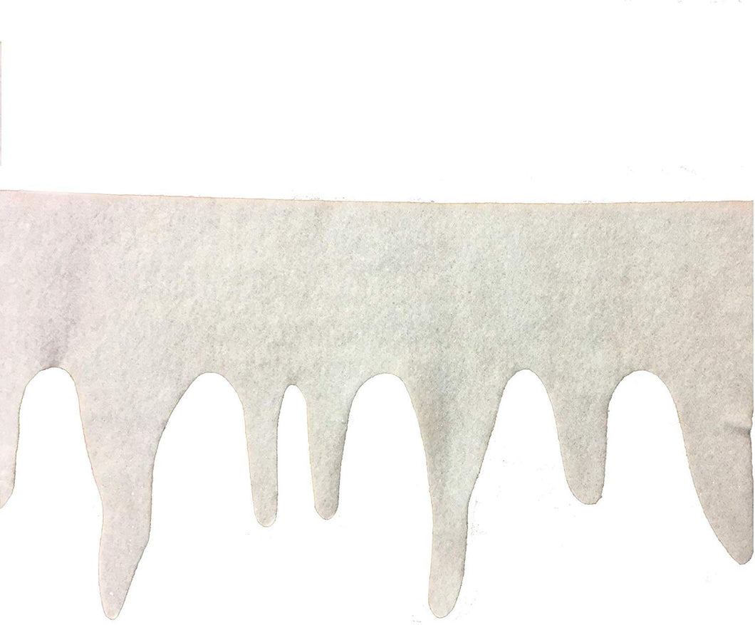 Christmas Icicle Fringe 7-inch X 8 foot – 1 Piece