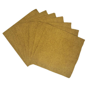 Gold Plain Solid Color Paper Disposable Cocktail Beverage Napkins