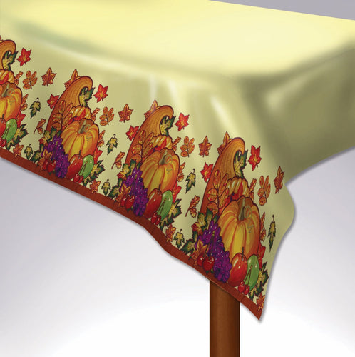 Harvest Time Rectangular Table Cover - 54