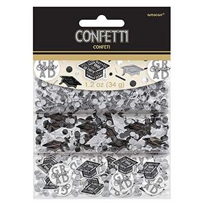 Grid Graduation Confetti – 1.2 oz