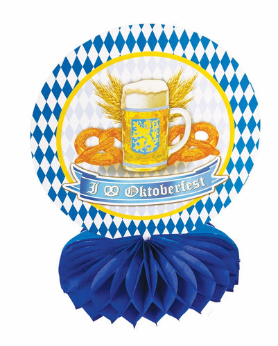 Oktoberfest Honeycomb Table Centerpiece - 1 Piece