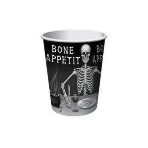 Halloween Bone Appetit Paper Cups 9oz – 8 Count