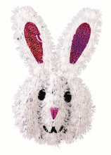 Load image into Gallery viewer, Easter Bunny Tinsel Decoration – 2 Pieces